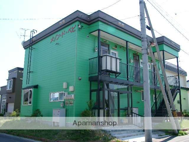 北海道北広島市、北広島駅徒歩15分の築27年 2階建の賃貸アパート