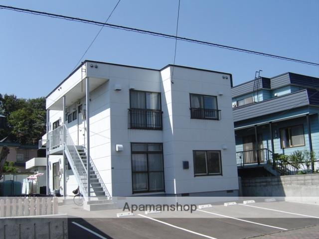 北海道北広島市、北広島駅徒歩15分の築28年 2階建の賃貸アパート