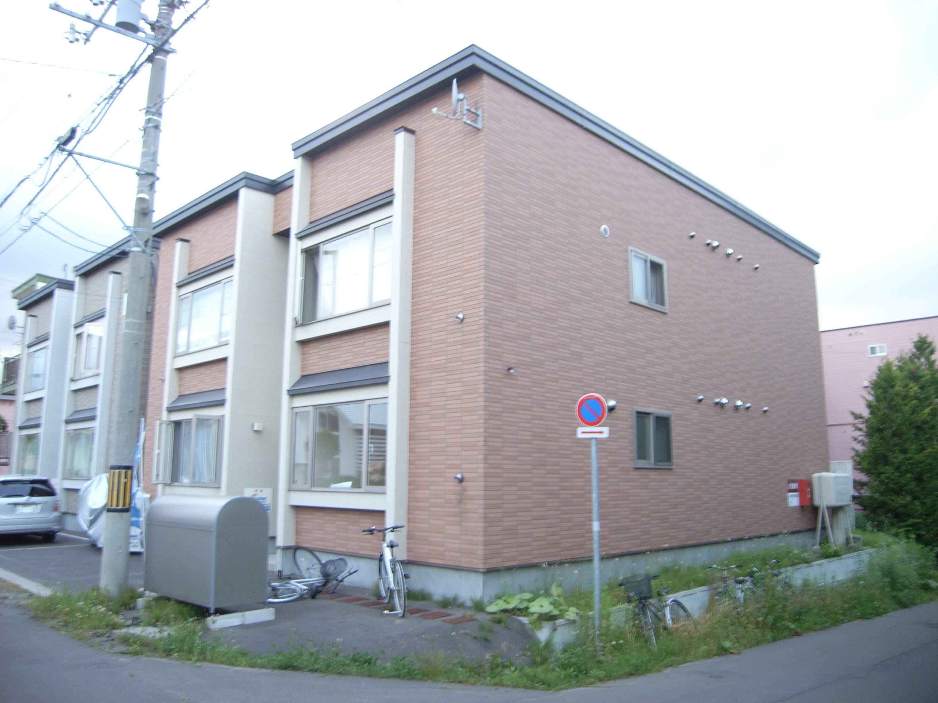 北海道江別市、大麻駅徒歩9分の築9年 2階建の賃貸アパート