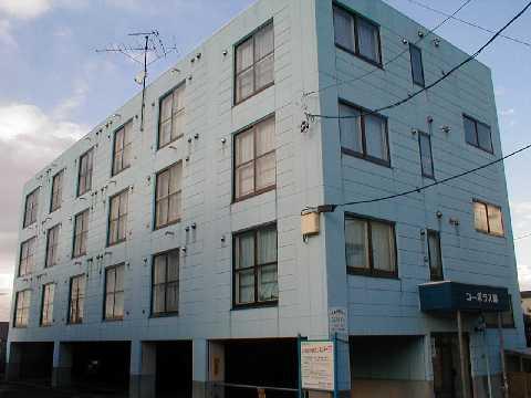 北海道江別市、野幌駅徒歩21分の築24年 4階建の賃貸マンション
