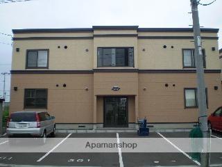 北海道江別市、江別駅徒歩20分の築13年 2階建の賃貸アパート