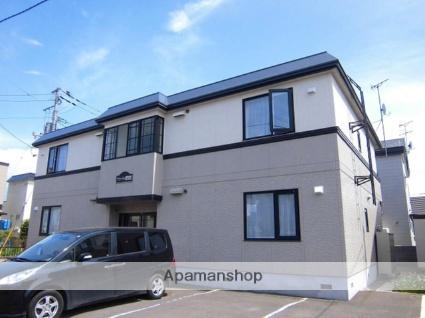 北海道札幌市厚別区、厚別駅徒歩5分の築19年 2階建の賃貸アパート