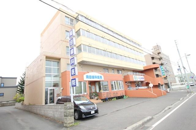 北海道札幌市厚別区、厚別駅徒歩7分の築26年 5階建の賃貸マンション