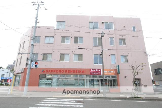 北海道札幌市厚別区、厚別駅徒歩1分の築31年 4階建の賃貸マンション