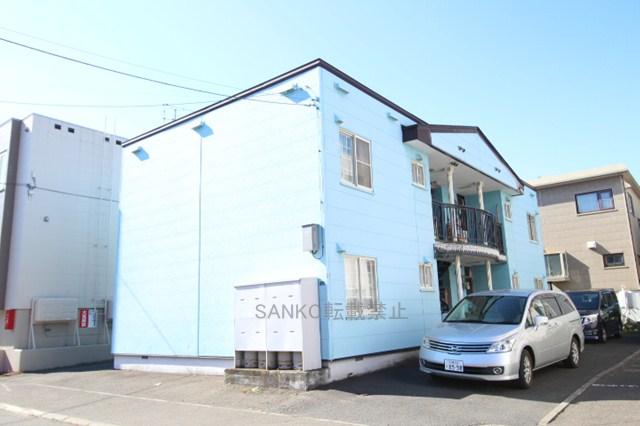 北海道札幌市厚別区、ひばりが丘駅徒歩10分の築31年 2階建の賃貸アパート