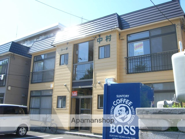 北海道札幌市厚別区、新札幌駅徒歩17分の築32年 2階建の賃貸アパート