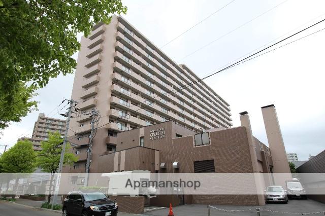北海道札幌市厚別区、大谷地駅徒歩5分の築14年 15階建の賃貸マンション