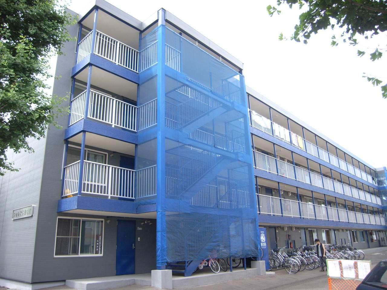 北海道札幌市厚別区、厚別駅徒歩12分の築28年 4階建の賃貸マンション