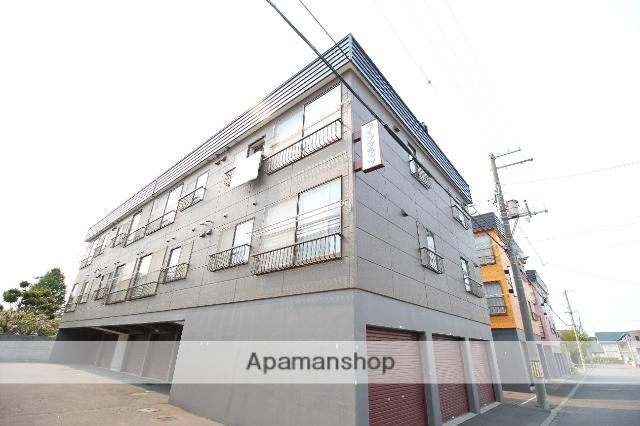 北海道札幌市厚別区、新札幌駅徒歩17分の築29年 2階建の賃貸アパート