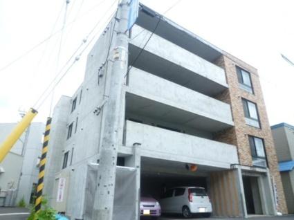 北海道札幌市豊平区、平岸駅徒歩15分の築12年 4階建の賃貸マンション