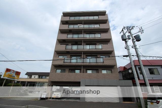 北海道札幌市厚別区、厚別駅徒歩13分の築13年 7階建の賃貸マンション