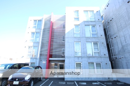 北海道札幌市厚別区、新札幌駅徒歩11分の築10年 4階建の賃貸マンション