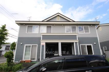 北海道札幌市厚別区、上野幌駅徒歩17分の築13年 2階建の賃貸テラスハウス