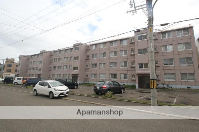 北海道札幌市厚別区、厚別駅徒歩7分の築32年 4階建の賃貸マンション