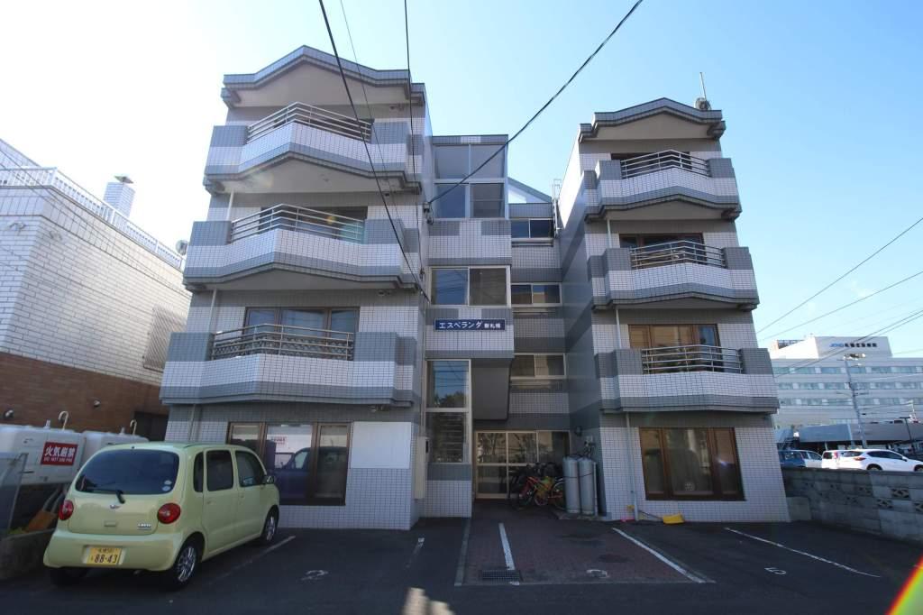 北海道札幌市厚別区、厚別駅徒歩18分の築26年 4階建の賃貸マンション