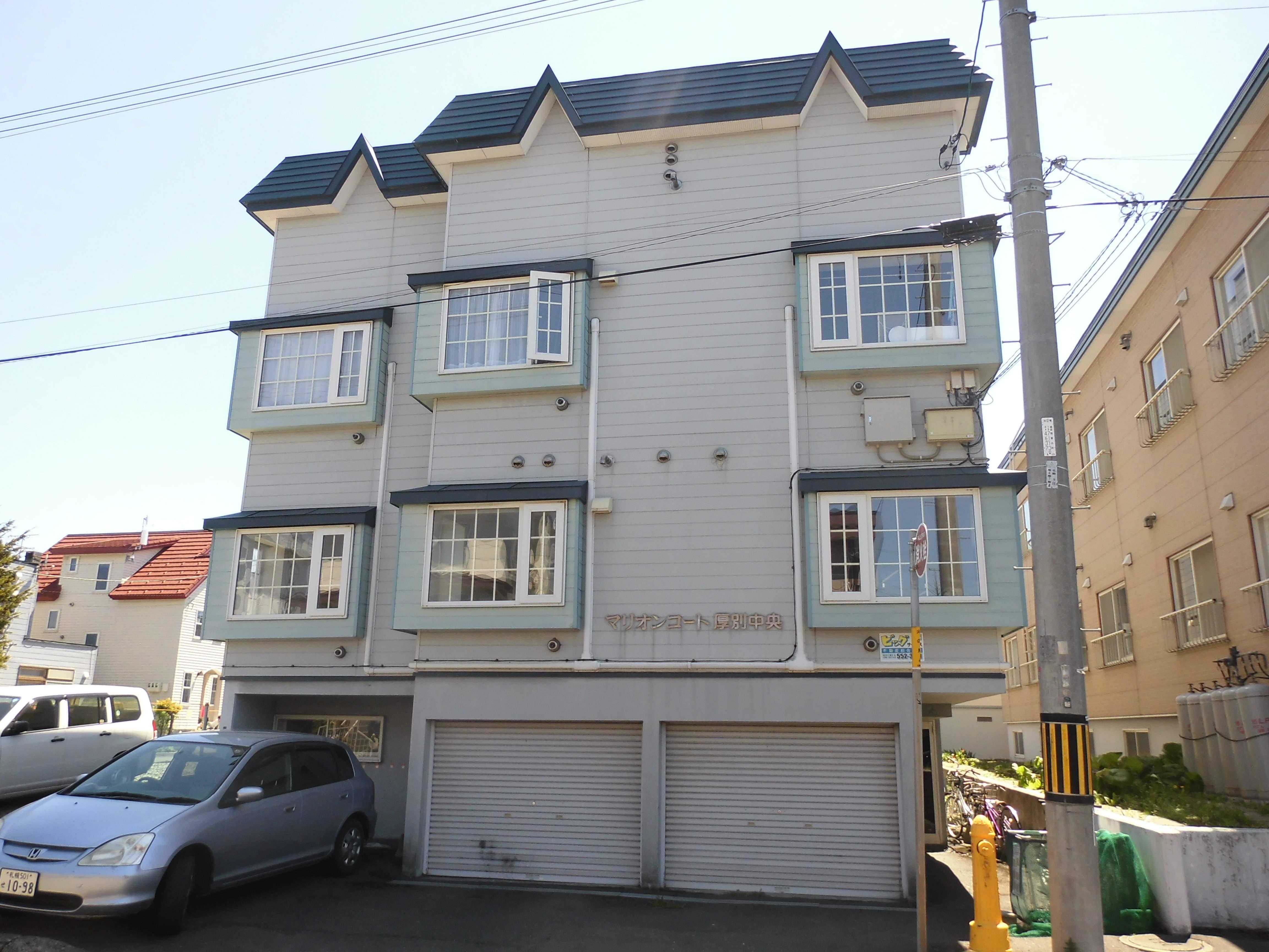 北海道札幌市厚別区、厚別駅徒歩8分の築25年 2階建の賃貸アパート