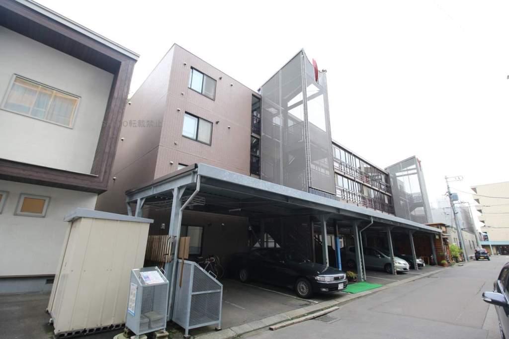 北海道札幌市厚別区、厚別駅徒歩5分の築23年 4階建の賃貸マンション