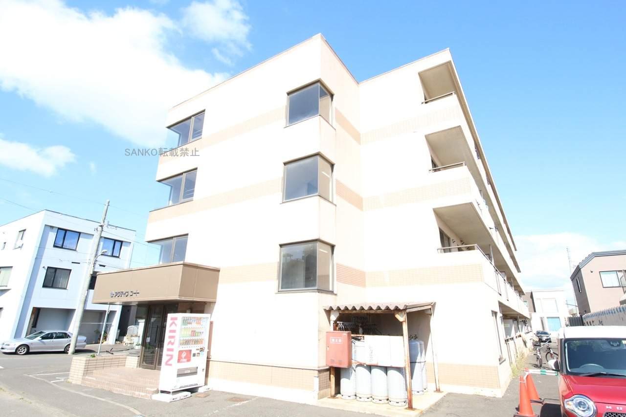 北海道札幌市厚別区、厚別駅徒歩10分の築23年 4階建の賃貸マンション