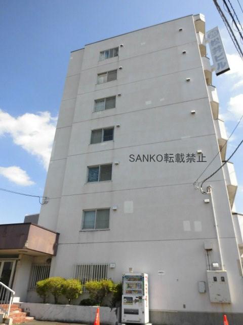 北海道札幌市厚別区、厚別駅徒歩2分の築34年 7階建の賃貸マンション