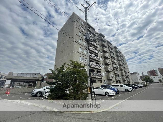北海道札幌市厚別区、厚別駅徒歩6分の築28年 8階建の賃貸マンション