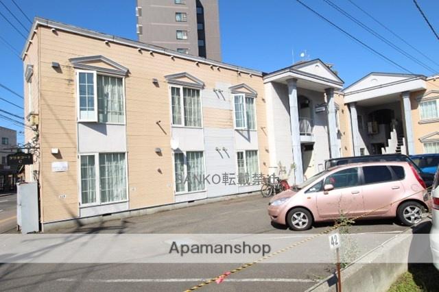 北海道札幌市厚別区、新札幌駅徒歩12分の築29年 2階建の賃貸アパート