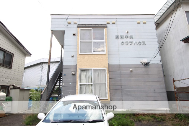 北海道札幌市厚別区、大谷地駅徒歩11分の築26年 2階建の賃貸アパート
