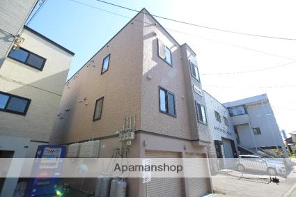 北海道札幌市厚別区、大谷地駅徒歩11分の築13年 3階建の賃貸アパート
