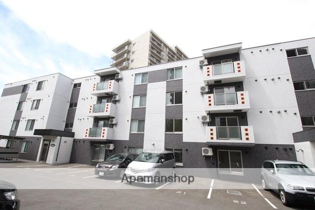 北海道札幌市厚別区、大谷地駅徒歩8分の築2年 4階建の賃貸マンション