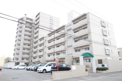 北海道札幌市厚別区、大谷地駅徒歩15分の築19年 11階建の賃貸マンション