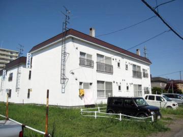 北海道札幌市白石区、白石駅徒歩18分の築24年 2階建の賃貸アパート