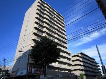 北海道札幌市白石区、菊水駅徒歩14分の築26年 14階建の賃貸マンション