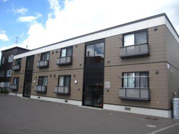 北海道札幌市白石区、白石駅徒歩39分の築13年 2階建の賃貸アパート