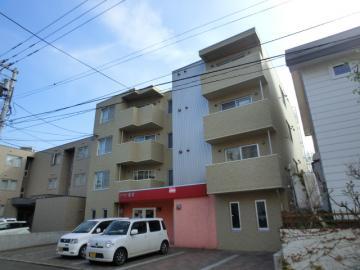 北海道札幌市豊平区、月寒中央駅徒歩19分の築9年 4階建の賃貸マンション