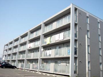 北海道札幌市白石区、白石駅徒歩34分の築16年 4階建の賃貸マンション