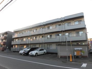 北海道札幌市豊平区、南郷7丁目駅徒歩15分の築25年 3階建の賃貸マンション