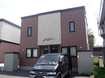 北海道札幌市清田区、大谷地駅徒歩38分の築14年 2階建の賃貸テラスハウス