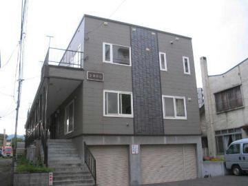 北海道札幌市豊平区、菊水駅徒歩12分の築18年 2階建の賃貸アパート