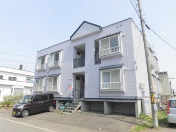 北海道札幌市清田区、大谷地駅徒歩38分の築27年 2階建の賃貸アパート