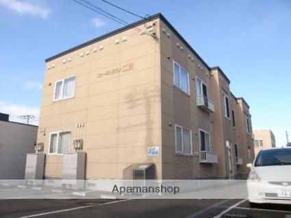 北海道江別市、高砂駅徒歩15分の築11年 2階建の賃貸アパート