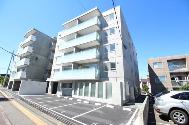 北海道札幌市厚別区、厚別駅徒歩9分の築1年 5階建の賃貸マンション
