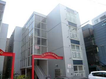 北海道札幌市豊平区、中島公園駅徒歩12分の築29年 4階建の賃貸マンション