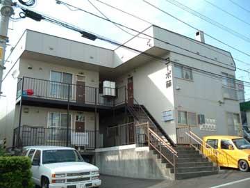 北海道札幌市豊平区、美園駅徒歩15分の築34年 2階建の賃貸アパート