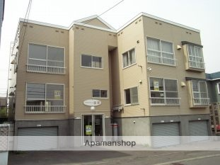 北海道札幌市清田区、上野幌駅徒歩68分の築26年 2階建の賃貸アパート