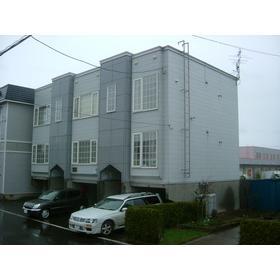 北海道札幌市清田区、大谷地駅徒歩52分の築26年 3階建の賃貸アパート
