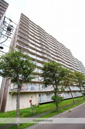 北海道札幌市厚別区、南郷18丁目駅徒歩20分の築25年 15階建の賃貸マンション