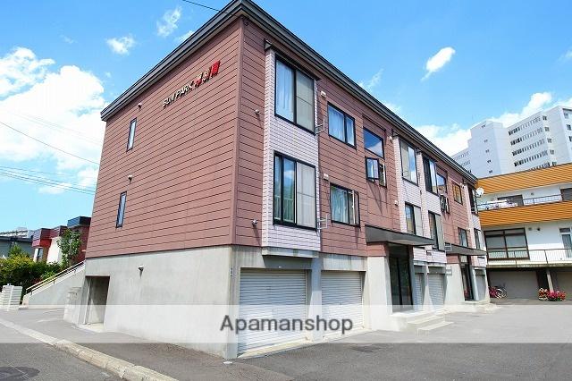 北海道札幌市厚別区、新札幌駅徒歩17分の築20年 2階建の賃貸アパート