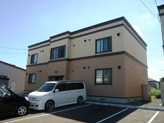 北海道江別市、高砂駅徒歩29分の築12年 2階建の賃貸アパート
