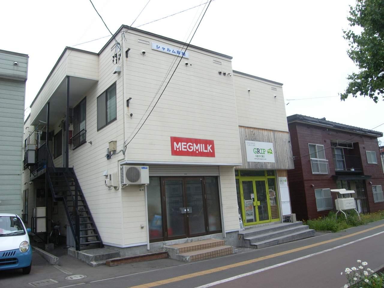 北海道札幌市厚別区、厚別駅徒歩3分の築32年 2階建の賃貸アパート