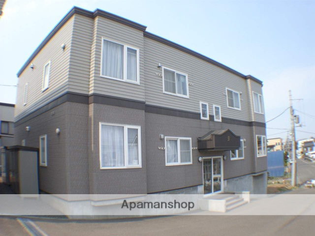 北海道札幌市厚別区、森林公園駅徒歩16分の築14年 2階建の賃貸アパート