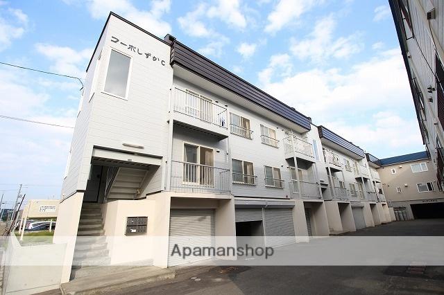 北海道札幌市厚別区、厚別駅徒歩18分の築23年 2階建の賃貸アパート